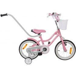 """Rowerek BMX 14"""" Gwiazdka - różowy"""