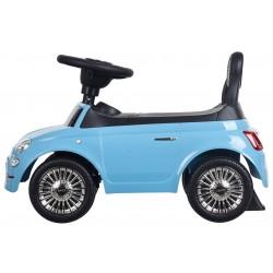 Jeździk Fiat 500 - Volare niebieski