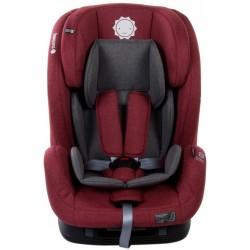 Fotelik samochodowy 9-36 kg czerwony ISOFIX