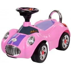 Jeździk Cobra - różowy