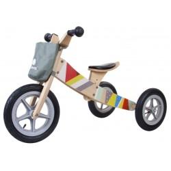 Rowerek biegowy drewniany 2w1 Twist Classic