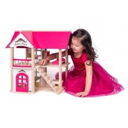 Domek dla lalek Villa Anna Maria z meblami