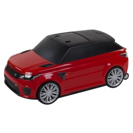 Jeździk walizka w jednym Range Rover - czerwony