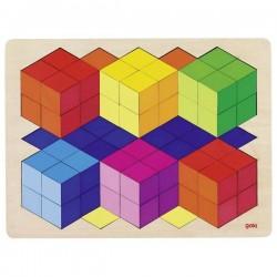 Puzzle duże 3D