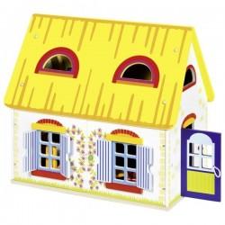 Wiejski domek dla lalek z mebelkami - rabat 15%