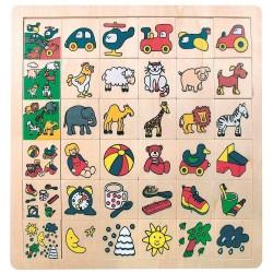 Bino Puzzle dopasowanie obrazków