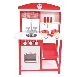 Bino czerwona kuchnia