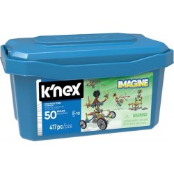 K'nex Imagine Strefa Tworzenia - zestaw konstrukcyjny - 50 modeli