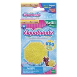 Aquabeads Żółte koraliki-klejnociki