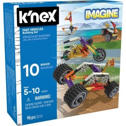 K'nex Imagine szybkie pojazdy - zestaw konstrukcyjny