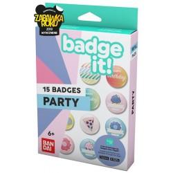 Badge It! Party - zestaw przypinek