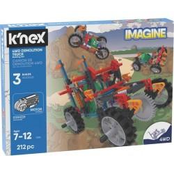 K'Nex Imagine ciężarówka 4WD - zestaw konstrukcyny