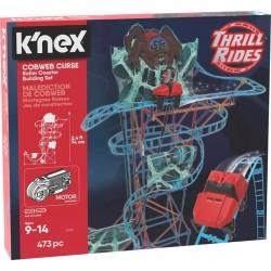 K'Nex Pajęcza klątwa kolejka górska - zestaw konstrukcyjny