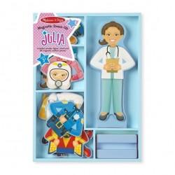 Magnetyczna ubieranka z laleczką Julia