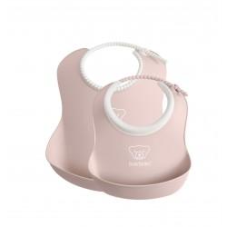 BABYBJORN - zestaw śliniaków mały/duży - Powder Pink