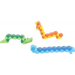Zabawka elastyczna drewniana dla dziecka