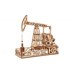 Wood Trick – Mechaniczne Puzzle 3D – Szyb naftowy