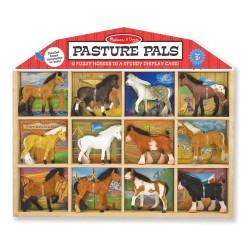 Figurki koni rasowych – Zestaw 12 sztuk
