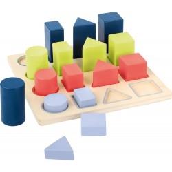 Układanka figury na podstawie 16 elementów
