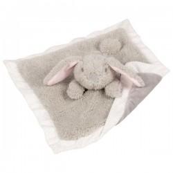 Przytulanka szmatka szary królik