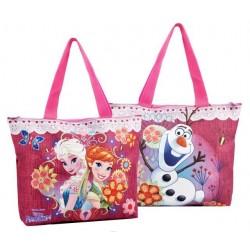 Frozen Glam Sister duża torba na zamek