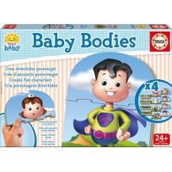 Puzzle dla dzieci - Dziecięce sylwetki