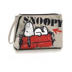 Snoopy płócienna saszetka