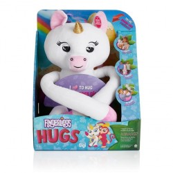 Fingerlings Hugs, interaktywny Jednorożec Gigi