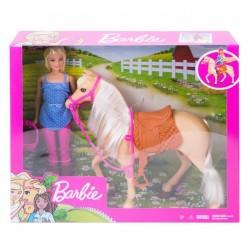 Barbie Lalka Koń podstawowy
