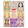 Zestaw naklejek dla dziewczynki – Twarze księżniczek