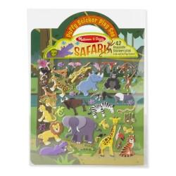 Naklejki wypukłe wielorazowe – Safari