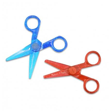 Nożyczki brokatowe bezpieczne – 2szt.