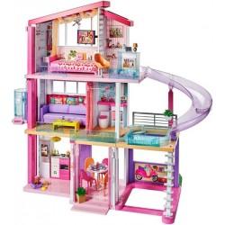 Barbie Dreamhouse Idealny domek dla lalek światła i dźwięki