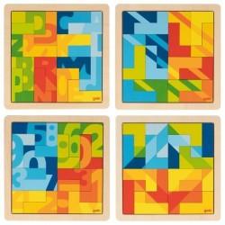 Puzzle wyobraźni - zestaw 4 sztuk