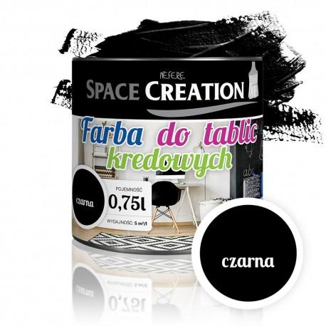 Farba tablicowa CZARNA do rysowania kredą