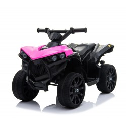 Quad na akumulator, miękkie koła EVA, miękkie siedzenie, dwa akumulatory, dźwięki/RBT570