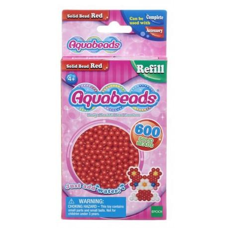 Aquabeads Czerwone lite koraliki