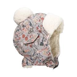 Elodie Details - Czapka Zimowa Vintage Flower 6-12 m-cy