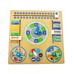 Kalendarz drewniany