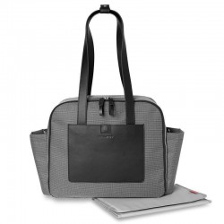 SKIP HOP - Torba Madison Square Mini Grid Black/White