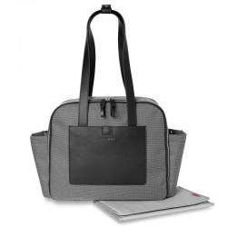SKIP HOP - Torba Madison Square Mini Grid Black/White