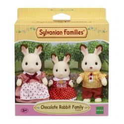 Sylvanian Families Rodzina królików z czekoladowymi uszkami (Tata, Mama, Siostra)