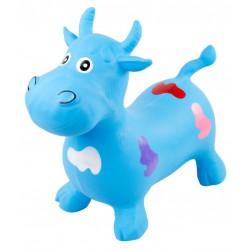 Gumowy skoczek byczek - niebieski