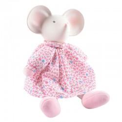 Meiya & Alvin - Myszka Meiya Przytulanka w różowej sukience z gryzakiem